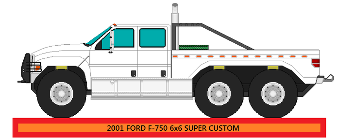 2001 Ford F750 4x4 Super Custom by narutosdad