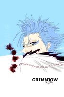 Grimmjow by Lovelorn-Insanity