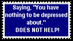 Depression Stamp by lady-warrior