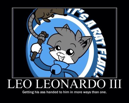 Here's Leo!!! by keyblade12345