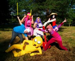 What time is it? Adventure Time! Cosplay by Mitternachto
