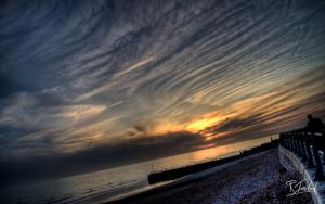 Spring Sunset in Hove 1 by richardsim7
