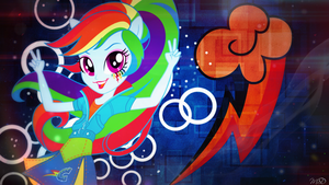 Rainbow Dash Wallpaper [EG] by MlpSunsetDash