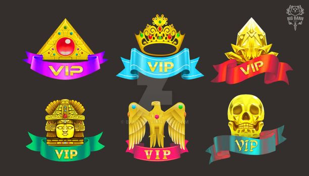 VIP icons by Banzz