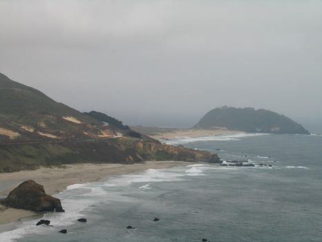 Along Highway 1 by mountainliongrl