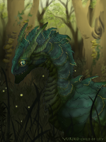 Deep in forest by Yuriko-ChildofLily