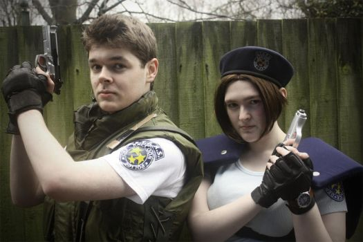 Redfield and Valentine by Mungojerrie