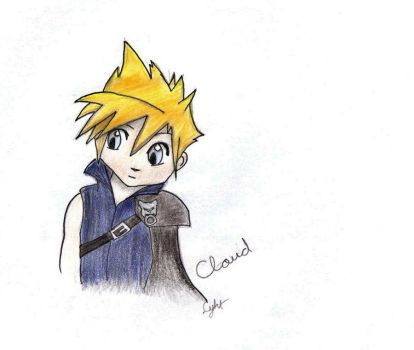 Chibi Cloud 1 by inFFinity