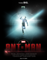 Marvel's ANT-MAN - POSTER I by MrSteiners