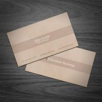Cholocate Business Card by elemis