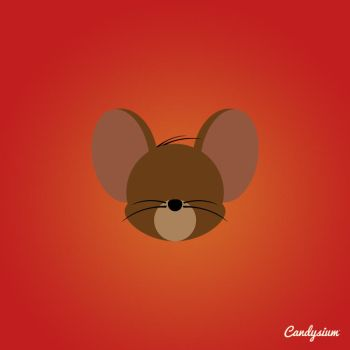 Jerry Mouse by mistachin2911
