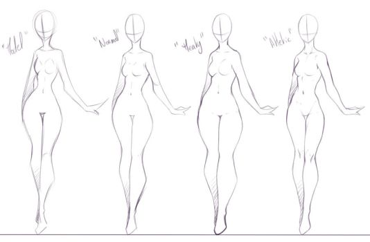 Some Body Forms I Like To Draw by rika-dono