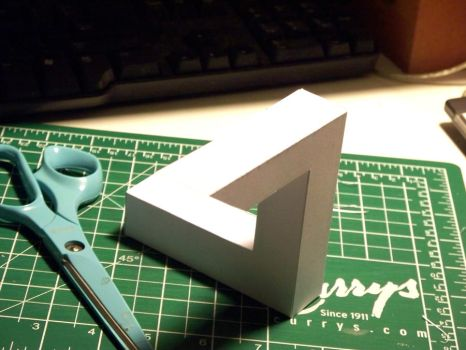 3D Impossible Object 1 by Frohickey