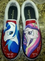 Cadence and Shining Armor by Acrylicolt