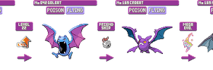 #042 Mega Crobat (Smiley-Fakemon) by Oroshibu