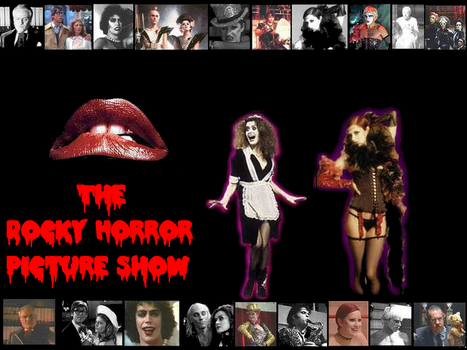 Rocky Horror Wallpaper by down-without-stairs