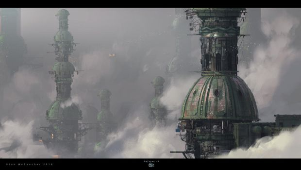 Celsius 13 - Skytowers concept by Jan-Wes