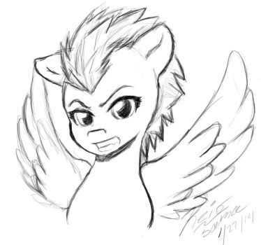 Icon Request sketch by keio-sama