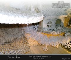 Powder snow // Hamsters house Winter Edition by Deux-re-Saiyaru