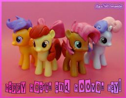 Happy Hearts and Hooves Day! by HeyLookASign