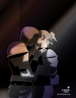 Kissing Shadows by racheview