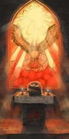 Twitch Plays Pokemon: Helix Altar by ThroughSpaceAndTime