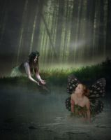 Fairy in the Forest by Holly6669666