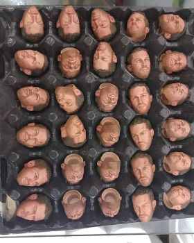 Very limited run of Tom as Max 1/6th scale heads by ToriaCasarro
