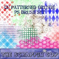 Patterned Grunge Brushes by debh945