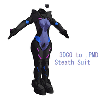 MMD- Stealth Suit -DL by MMDFakewings18