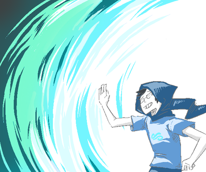 John: Do the windy thing by Blanket-light