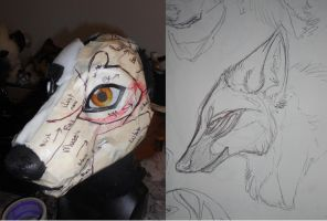 Maned Wolf WIP by Sharpe19