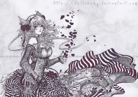 Petals of rose by Hellobaby