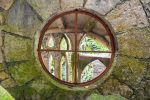 Surreal Jungle Castle Window by little-spacey