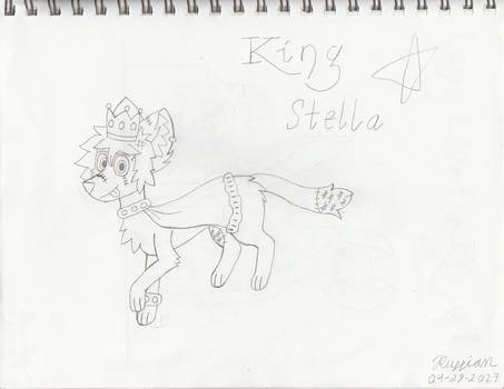 King Stella Reference (Sketched Version) by FakeRussianDude