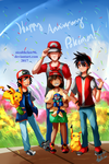 Happy Pokemon Anniversary! by stealthclaw96