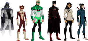 Justice League Redesign by derp99999
