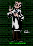 Professor Keanbean from Richie Rich! by CreedStonegate
