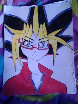 Yami with glasses by Sissie131