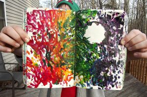Wreck This Journal: Color Outside of the Lines. by HeavenlyWitchx