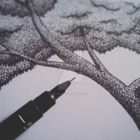 Stipple by knetbernales