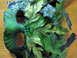 The Green Man Mask by kayne-stock