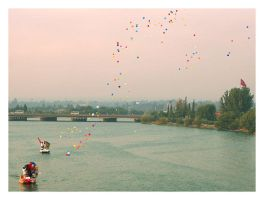 Flying Ballons by CTP