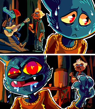The duality of Mae (TML plays NITW 3) by JimPAVLICA