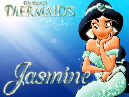 The Disney Mermaids - Jasmine by Alce1977
