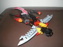 Shadow Striker - Jet mode by Dragonus-Prime