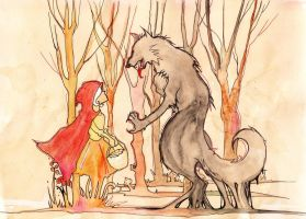 Little Red Riding Hood by MadCheshCat
