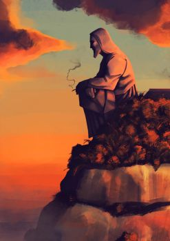 The redeemer by floq