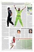 Layout Sports page by sheikhrouf23