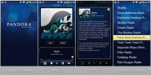 Pandora Mobile App Redesign by Neightron